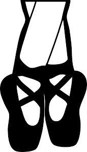 171x296 Resultado De Imagen De Ballerina Shoes Silhouette Kids Room