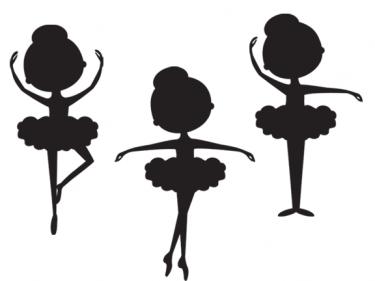 375x281 Silhouette Ballerina Clip Art Meylah Silhouette, Jolie