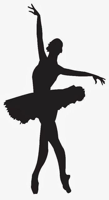 350x640 Siluetas De Ballerinas Y Bailarinas.