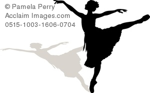 300x187 Ballet Silhouette Clipart Amp Stock Photography Acclaim Images