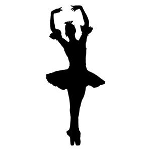 Ballet Silhouette Clip Art