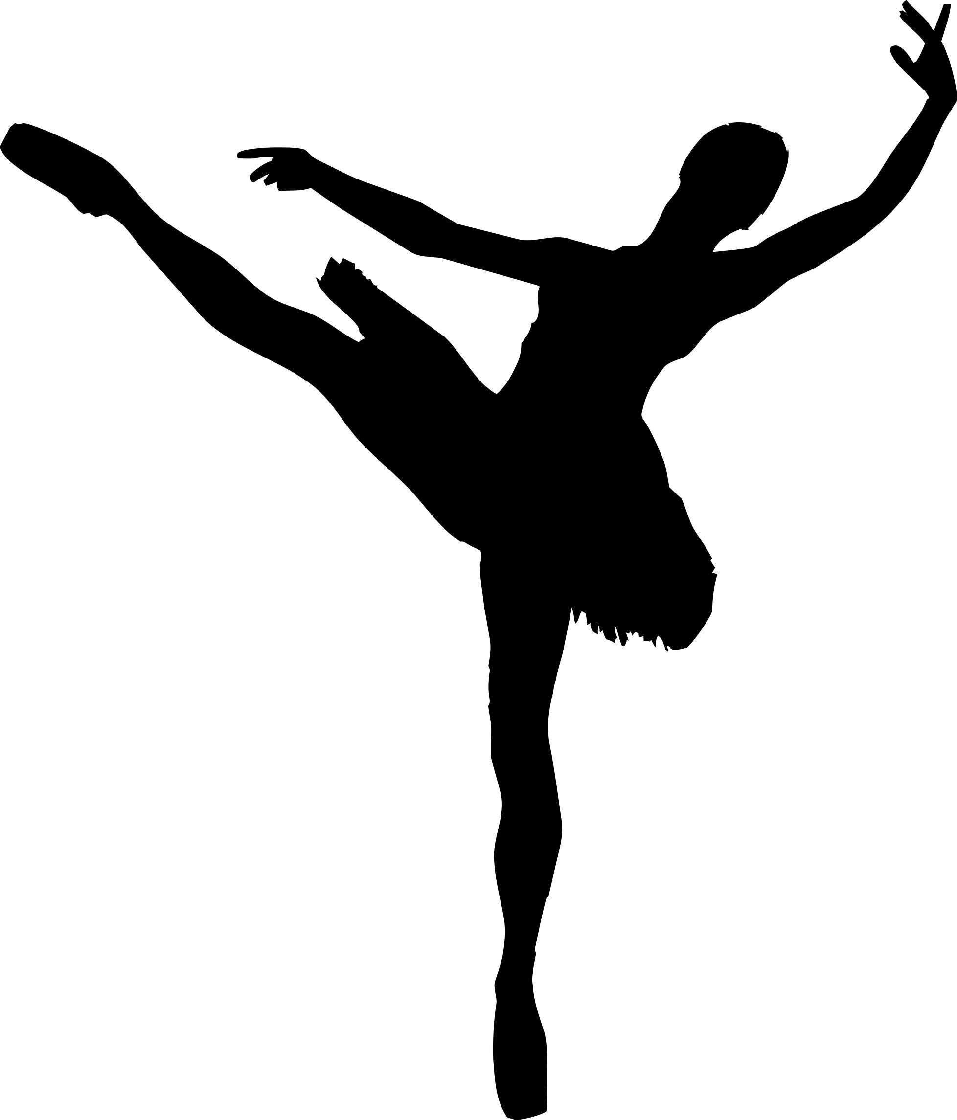 graphic about Printable Ballerina Silhouette named Ballet Silhouette Photos at  Totally free for