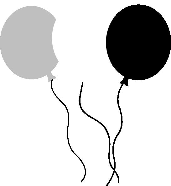 546x595 Balloon Trio Clip Art