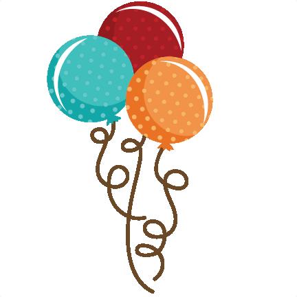 432x432 Polka Dot Balloon Bouquet Svg File Balloon Svg File Cute Balloons