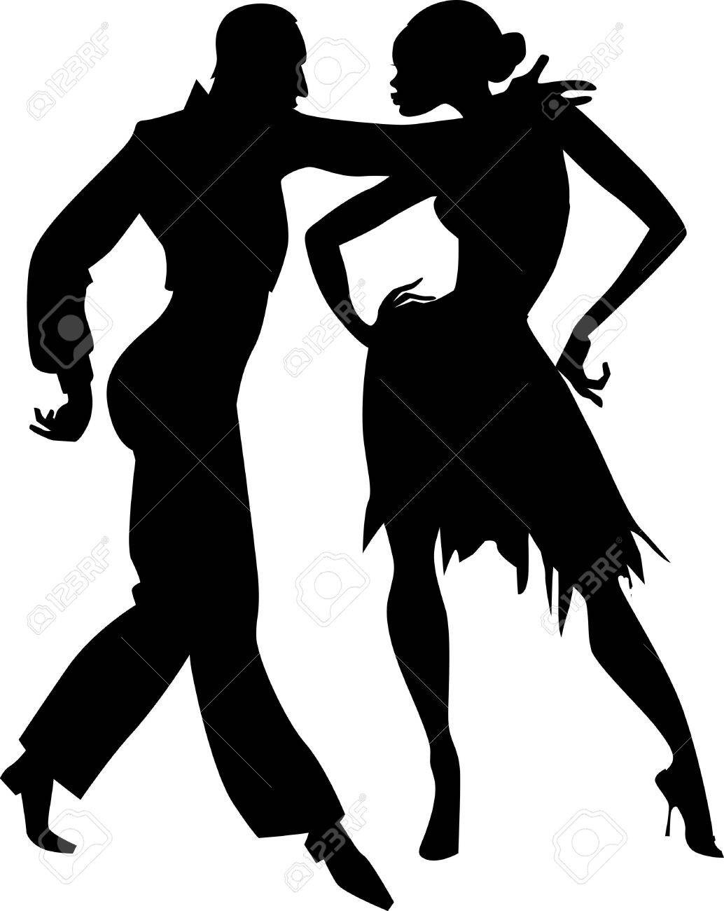 1034x1300 Ballroom Dancing Silhouette Swing Fiscalreform