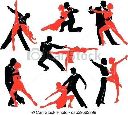 450x405 Ballroom Dancing Silhouette Free Ballroom Dance Silhouette Clip