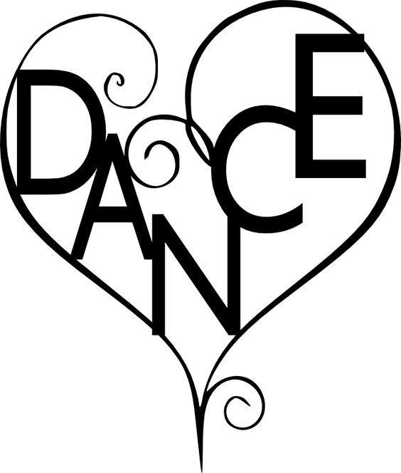 Ballroom Dance Silhouette Clip Art