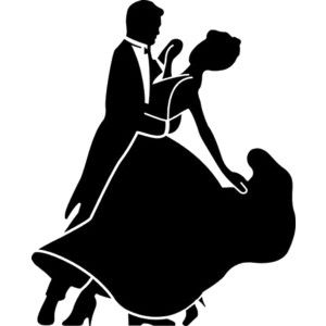 300x300 Cinderella silhouette clip art Ballroom And Latin Dance