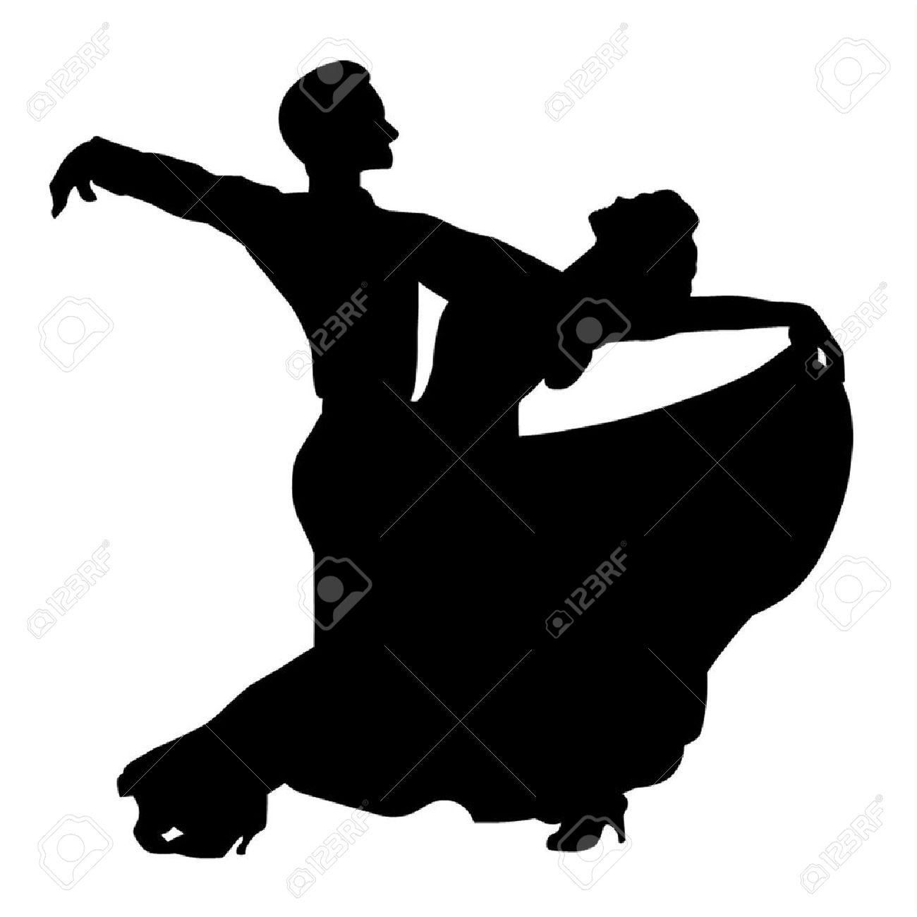 1300x1300 Dancing Clipart Quickstep Pencil And In Color Incredible Swing