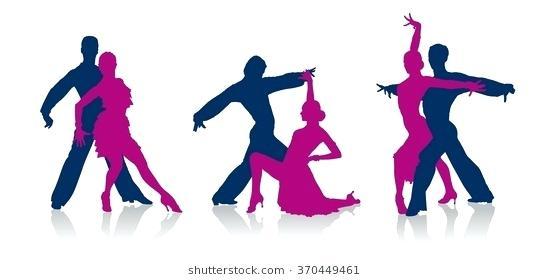 549x280 Ballroom Dancing Silhouette Free Ballroom Dance Silhouette Clip