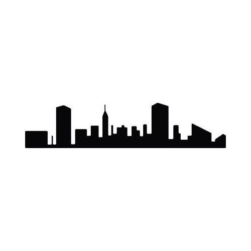 500x500 Baltimore Skyline Vinyl Wallrt, Wallrt,garage It'S