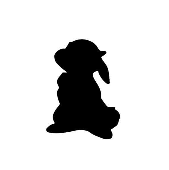 570x573 Thumper Disney Magic Band Decal Disney Thumper Decal