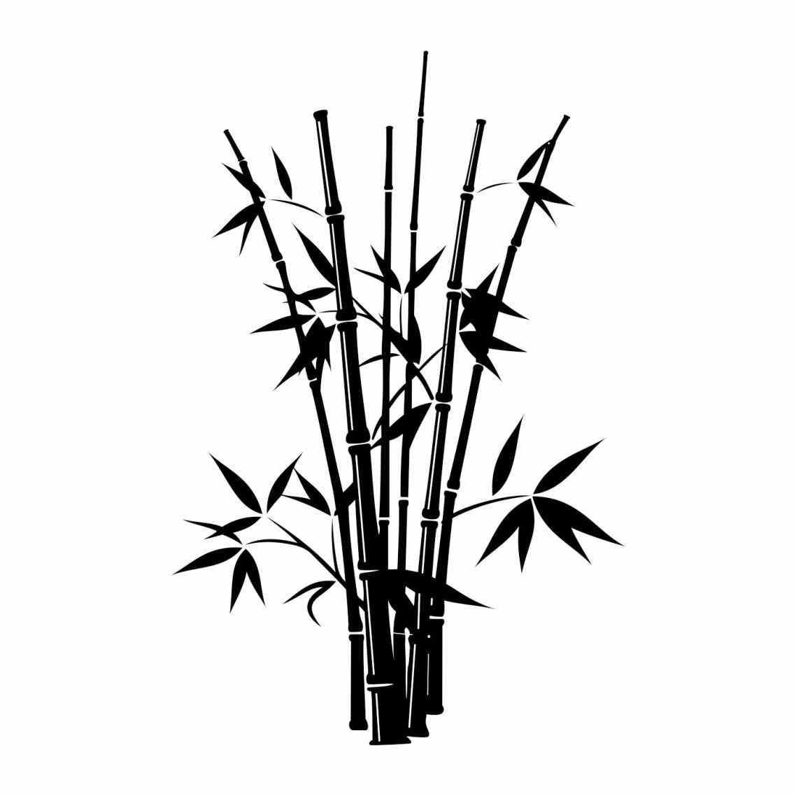 1138x1138 Clipart Bamboo Tree Silhouette Stock Photo Rhavopixcom Vector