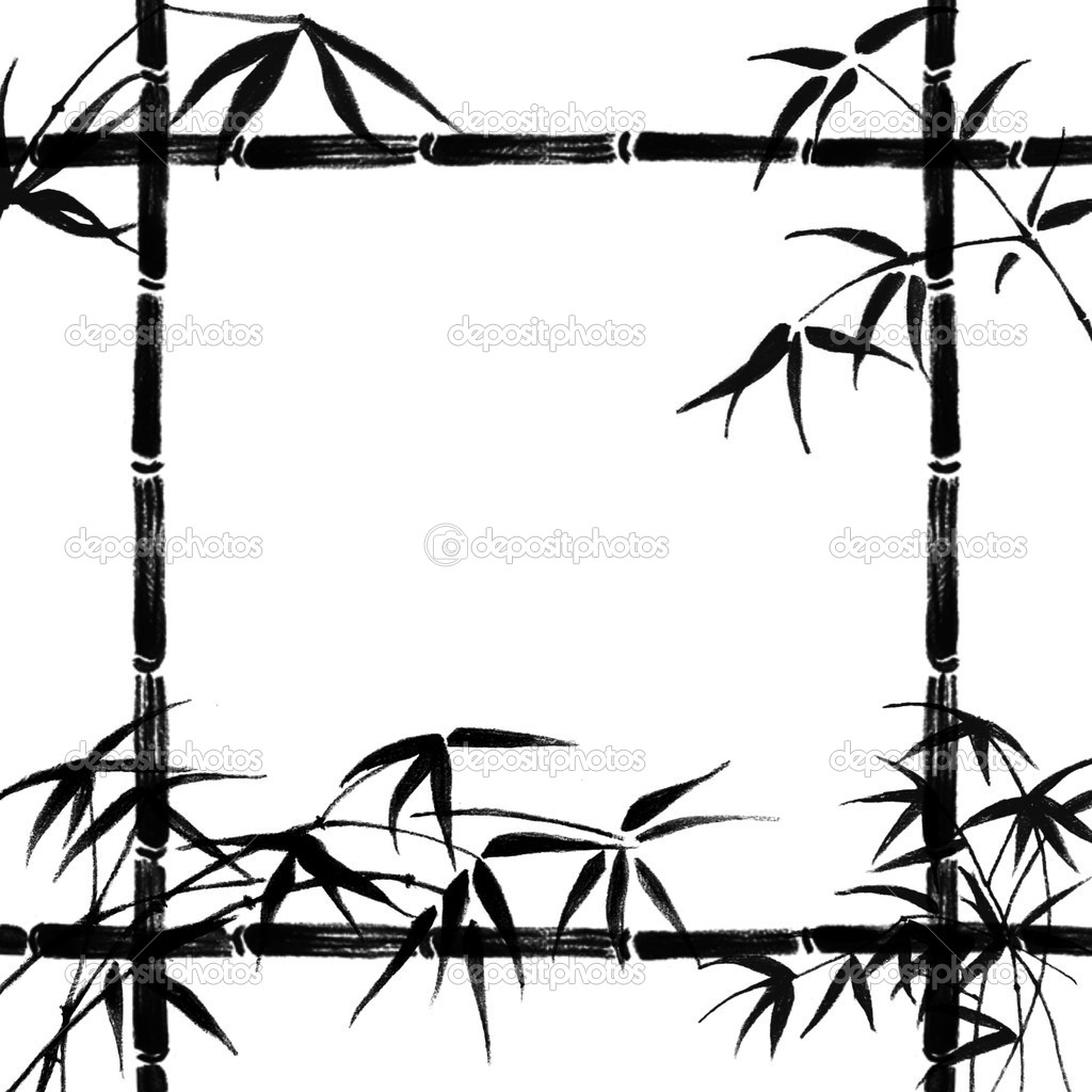1024x1024 Bamboo Clipart Rustic Wood Frame