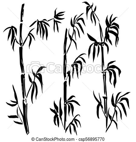 450x470 Bamboo Leaf Background. The Top The Bamboo. The Top