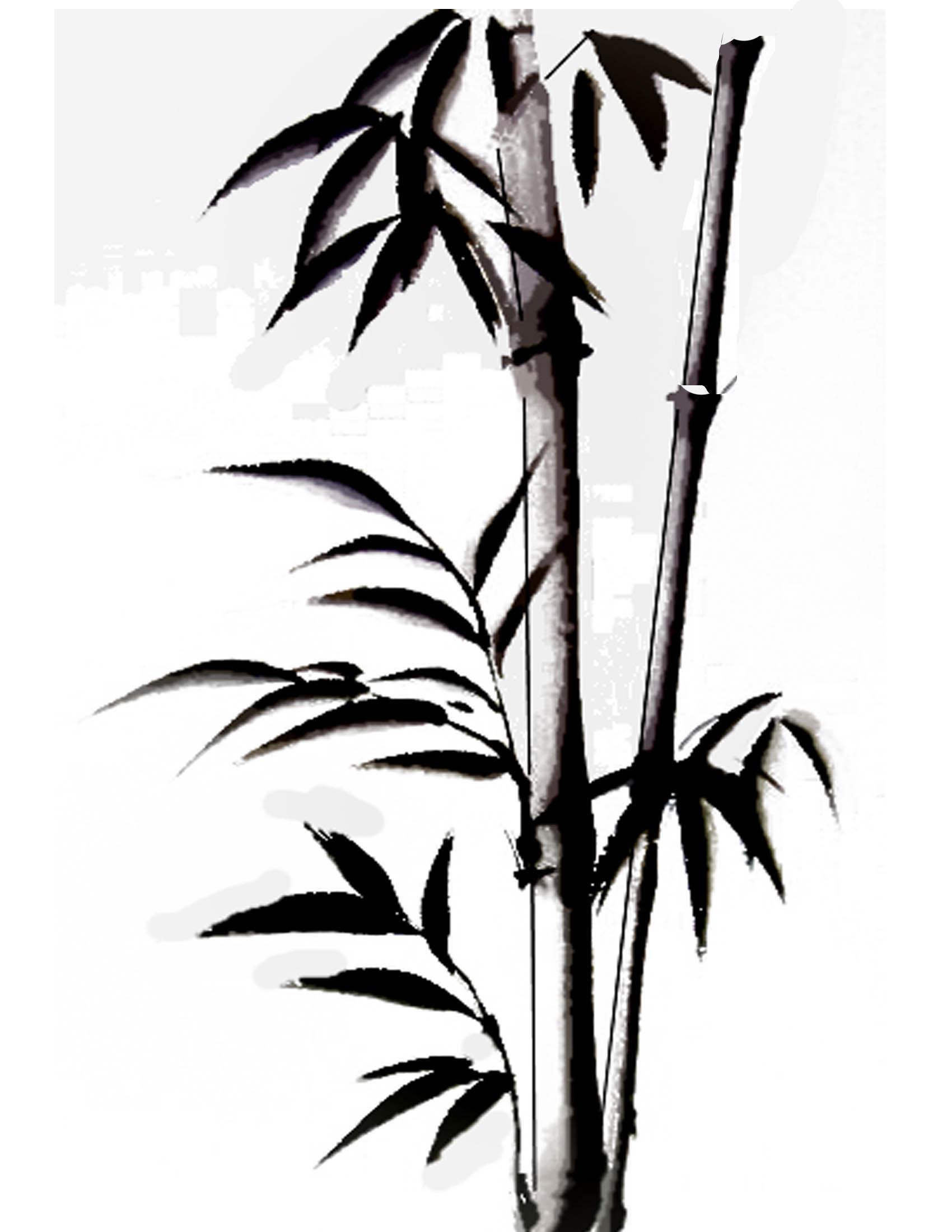 1700x2200 Drawn Bamboo Japanese Bamboo Many Interesting Cliparts
