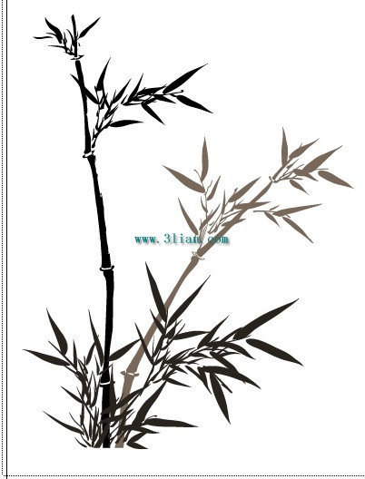 402x528 Vector Painting Bamboo Vector Misc Free Vector Free Download