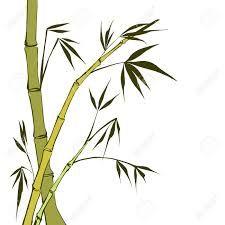 225x225 Green Bamboo Stems (Bamboo Vector Illustration, Bamboo Leaves