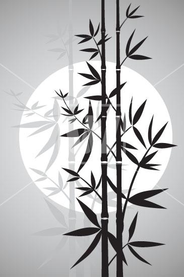 365x550 Bamboo Vector