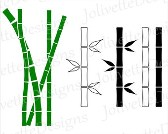 340x270 Bamboo Silhouette Etsy