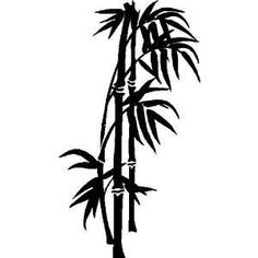 236x236 Bamboo Stencil Stencils Stenciling, Silhouettes