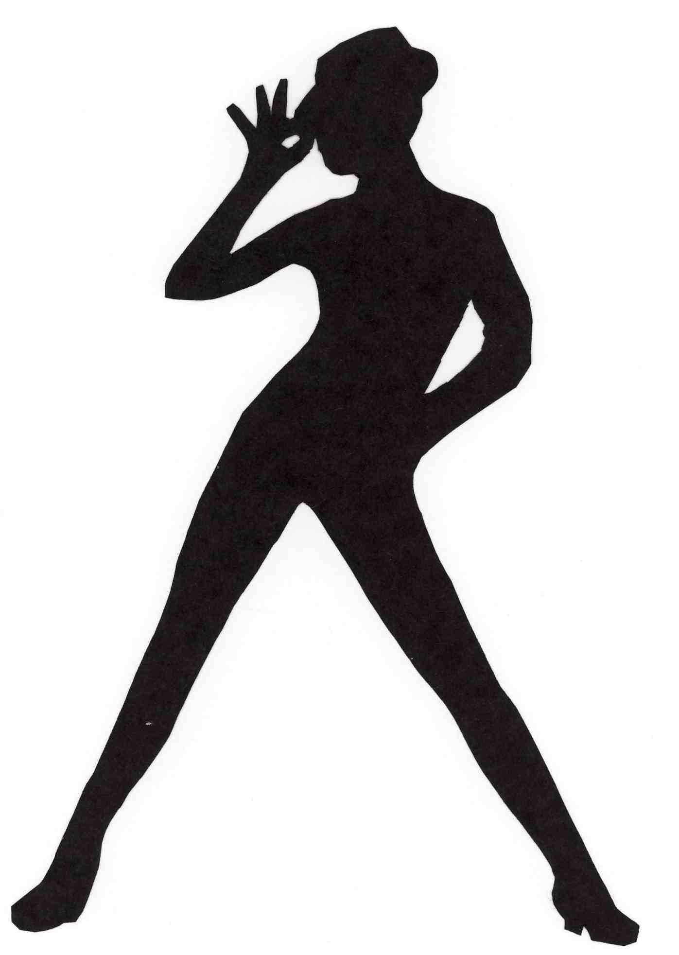 1397x1965 Dancing Shoes Silhouette