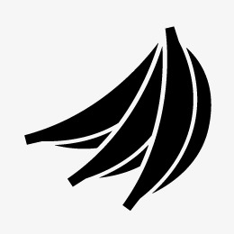 260x260 Banana Silhouette, Banana, Sketch, Fruit Png And Vector For Free