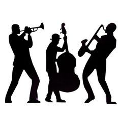 236x236 Gallery For Gt Jazz Musician Silhouette Cutouts Jazz