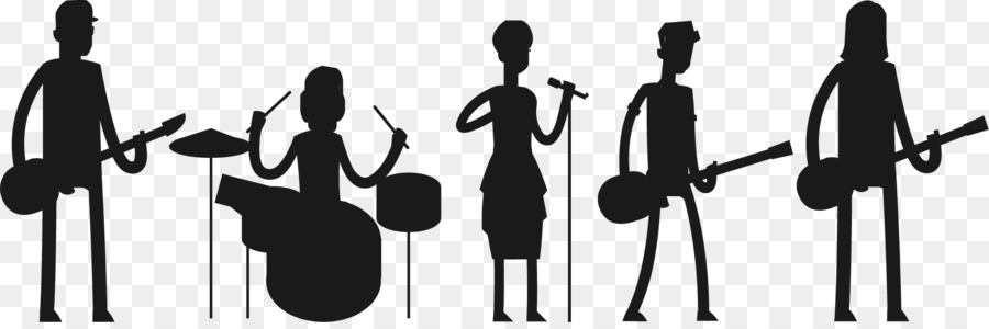 900x300 Silhouette Musical Ensemble Musician Singer Concert