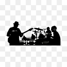 260x260 Band Silhouette Png Images Vectors And Psd Files Free Download