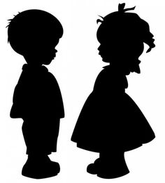 236x261 16 Little Girl Praying Silhouette Vector Images Papel