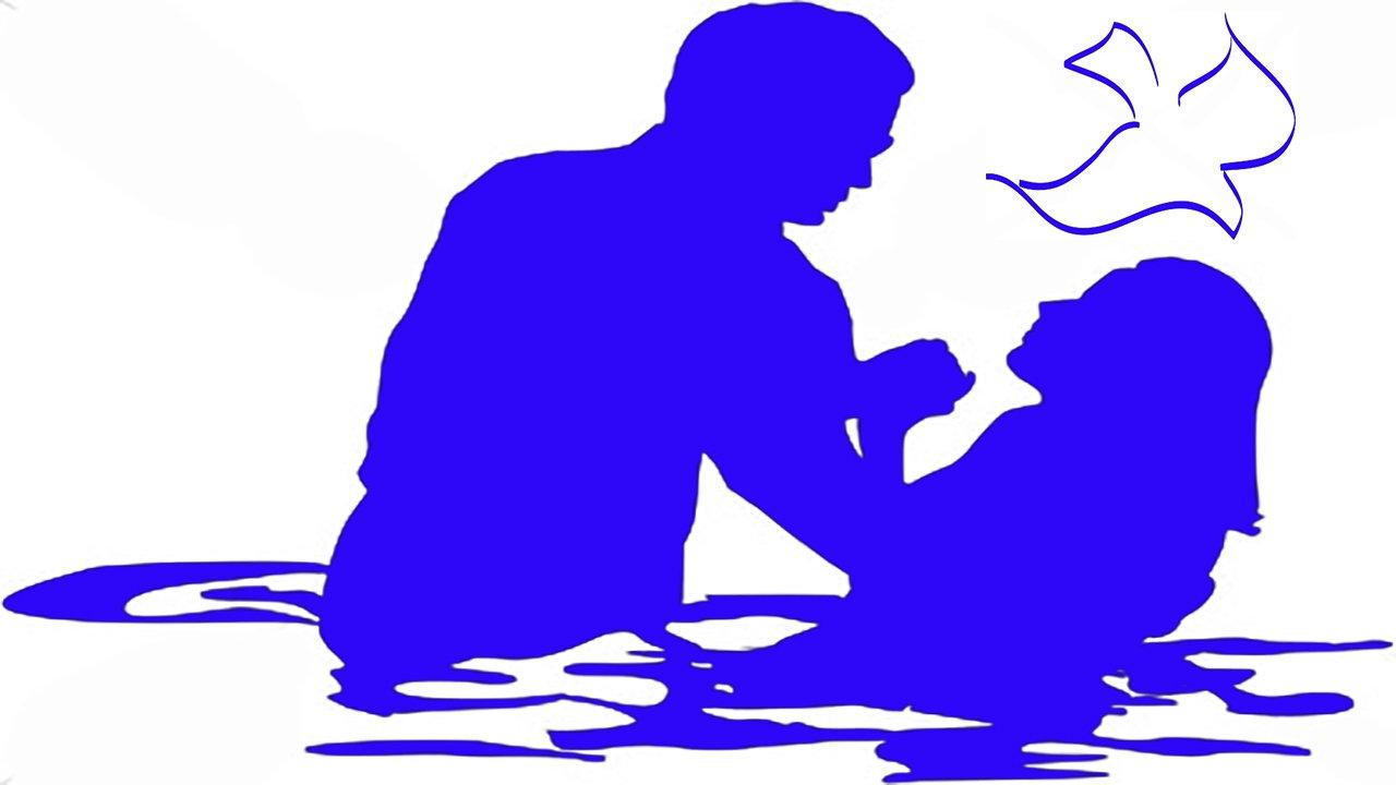 Baptism Silhouette at GetDrawings
