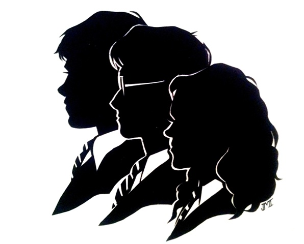 596x480 942 Best Silhouette Images On Bricolage, Silhouettes