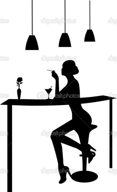 Bar Silhouette
