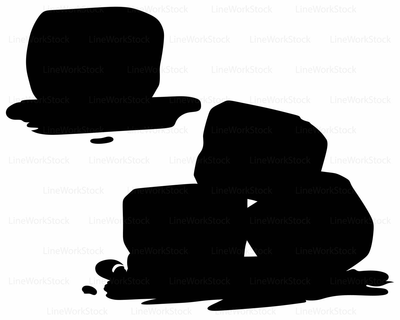 1500x1200 Ice Cubes Svgice Cubes Clipartice Cubes Svgcubes Silhouetteice