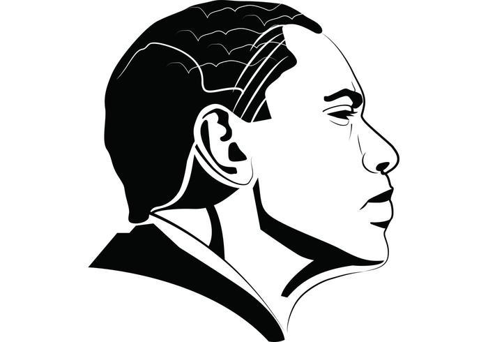 700x490 Barack Obama Portrait
