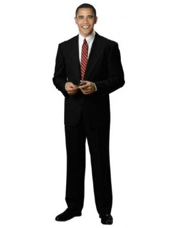 350x450 Silhouette En Carton Barack Obama Deguisement Magic