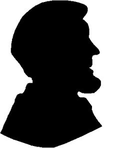 236x295 Silhouettes Of George Washington, Abe Lincoln And