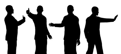 516x232 Barack Obama Silhouette Isolated On A White Background Parker Hudson