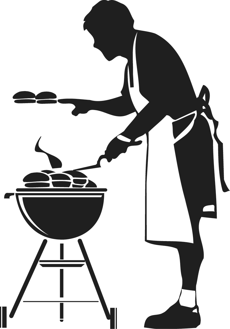 Barbecue Silhouette