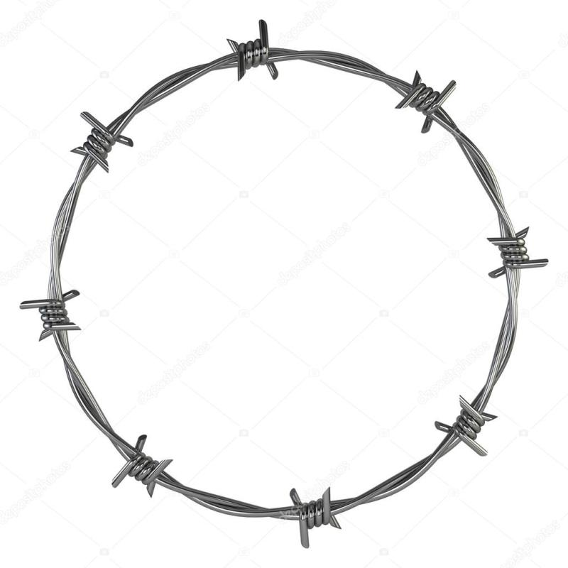 800x800 Magnificent Barb Wire Wrap Clipart Gallery