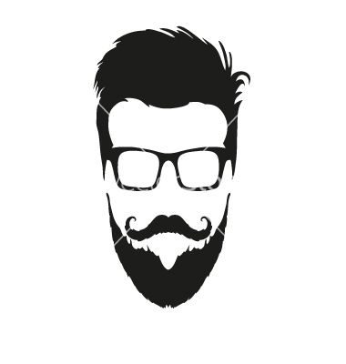 380x400 Fashion silhouette hipster style vector 1610685  +by+roman84