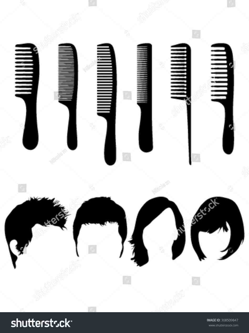 948x1264 Barber Shop Silhouette Man Glasses Stock Vector Rhshutterstockcom