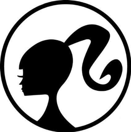425x426 Icoon Logo, Silhouette, Versmallingen In Hals, Rechte Kin, Bizarre