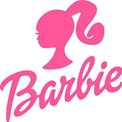 425x425 Barbie Logo Silhouette