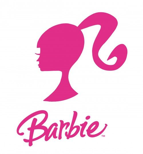 500x538 Barbie Silhouette Free Printable