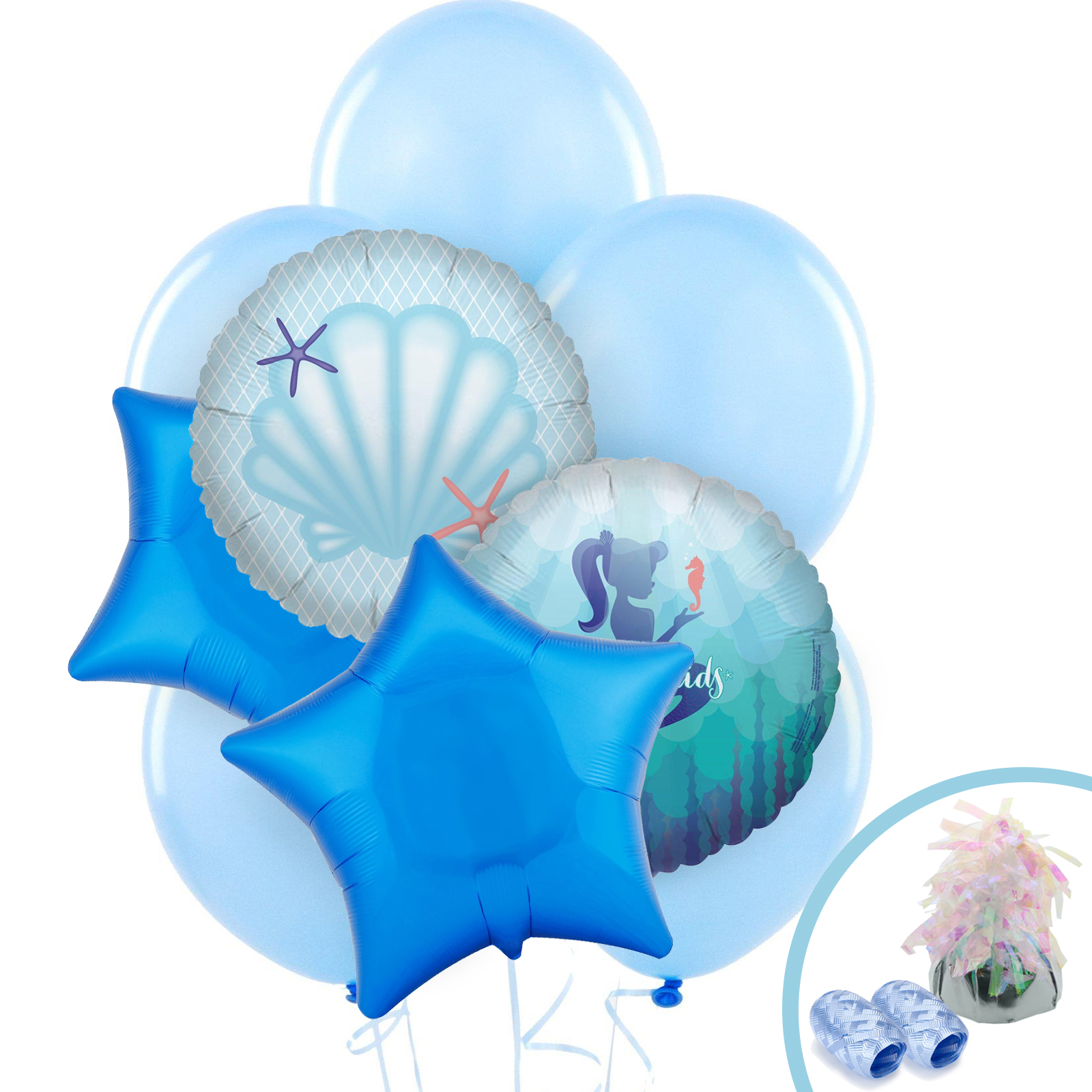 1600x1600 Mermaids Under The Sea Party Supplies