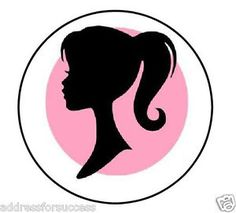 236x213 Vintage Barbie Silhouette Bannercupcake By Barefootstudiosok