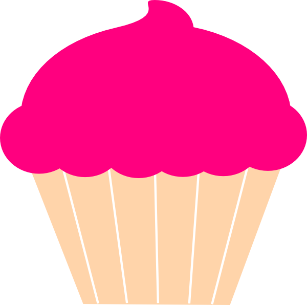600x596 Free Cupcake Silhouette, Hanslodge Clip Art Collection
