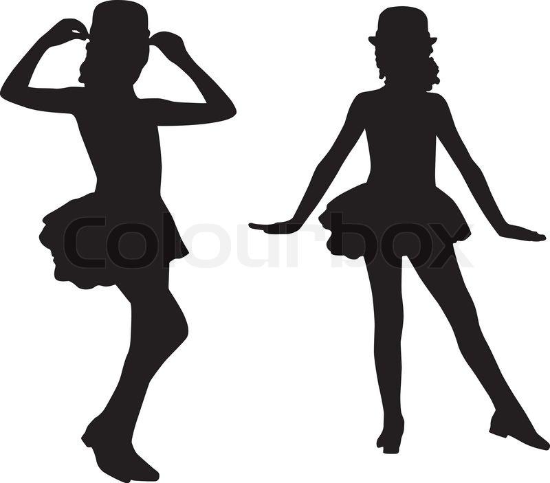 800x703 Opulent Design Tap Dance Silhouette